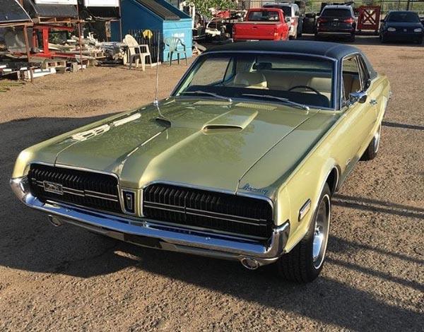 Gold Classic Car